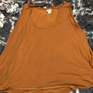 Burnt orange tank top